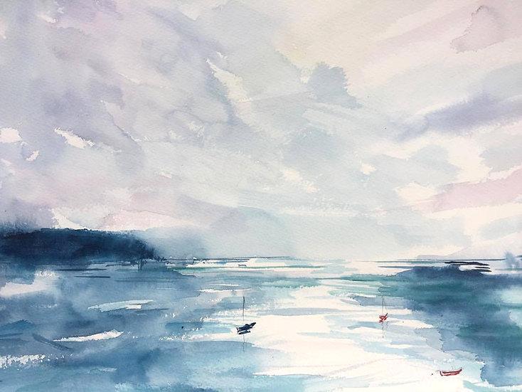 Feathered sky, Loch Shieldaig