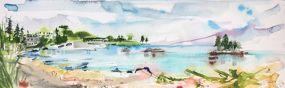 Loch Torridon and Eilean Chasgaigh