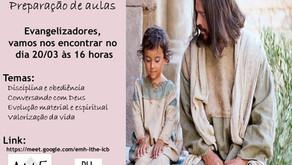 OFICINA DE PREPARAÇÃO DE AULAS