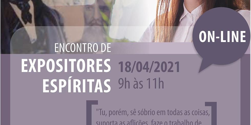 ENCONTRO DE EXPOSITORES ESPÍRITAS