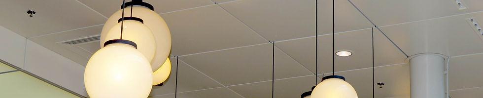 Kazetové kovové podhledy