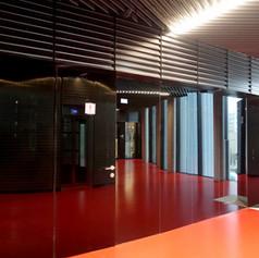 Dveře obložené sklem Lacobel