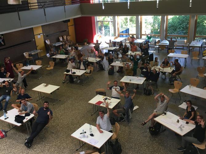 """Fortbildung zu """"Frei-Day"""" als Vorbereitung auf das neue Schuljahr 2020/2021"""