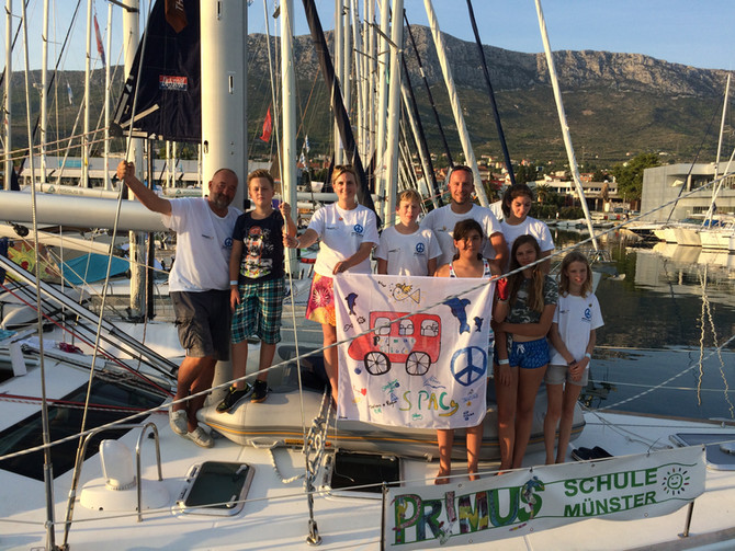 Mirno More Friedens-Crew 2018 wieder zurück