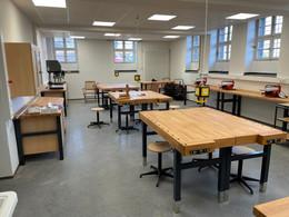 Neue Technikräume und neue Ausstattung warten auf die Schulöffnung...