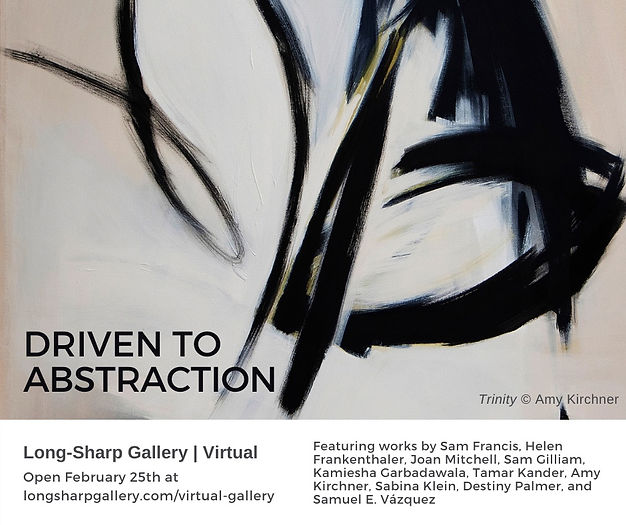 Driven to Abstraction Exhibit, Long Sharp Gallery