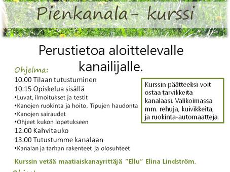 2019 Pienkanala-kurssipäivät julkaistu!