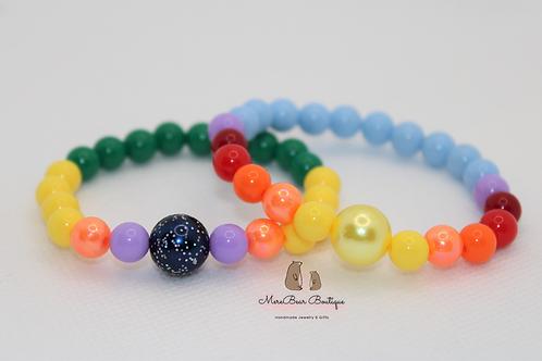 Mali-Beauty Bubblegum Bracelet Set