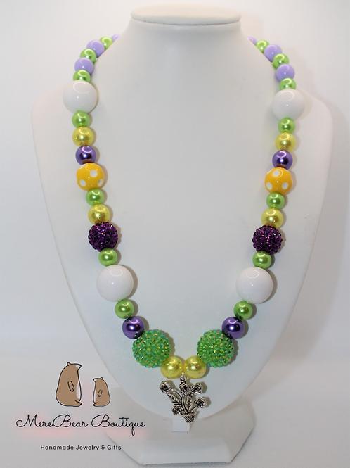 Springtime Bubblegum Necklace