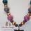Thumbnail: Dragonfly Bubblegum Bead Necklace
