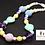 Thumbnail: Easter Bubblegum Bead Necklace