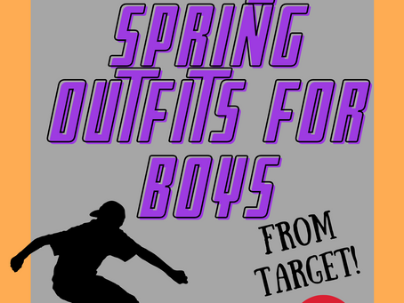 Simple Spring Outfits for Boys