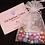 Thumbnail: DIY Bubblegum Necklace Kit - Blue, Pink & Gold Shell Charm
