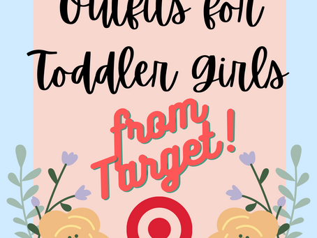 Simple Spring Outfits for Toddler Girls