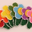 Thumbnail: Felt Flower Hair Clips
