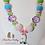 Thumbnail: Happy Llama Bubblegum Necklace
