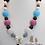 Thumbnail: Astronaut Charm Bubblegum Necklace