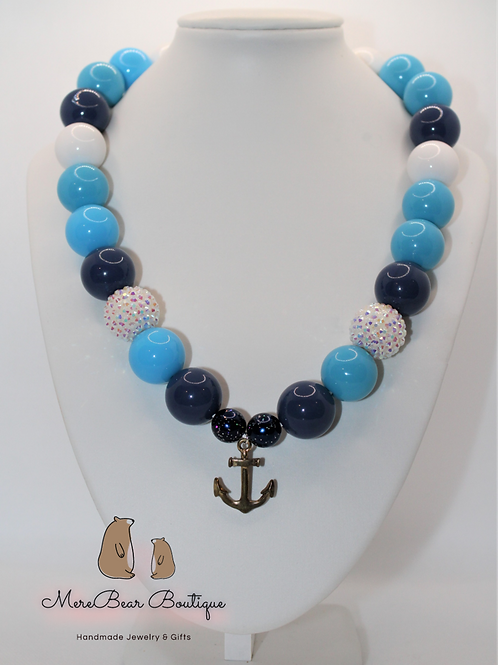 Nautical Bubblegum Necklace