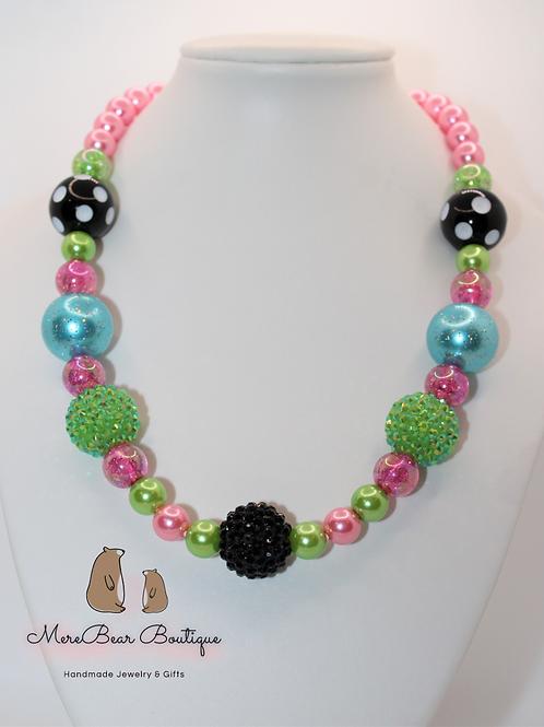 Summer Watermelon Bubblegum Necklace