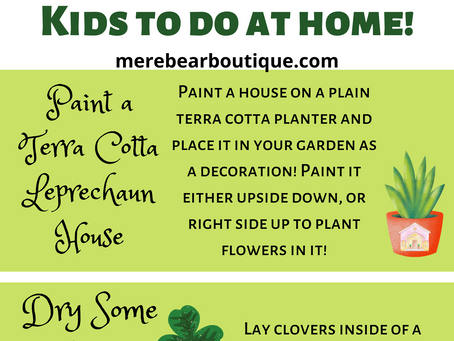 Easy St Patrick's Day Craft Ideas For Kids To Do At Home