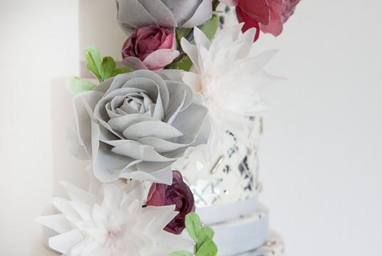 Wafer Paper Flower Close Up