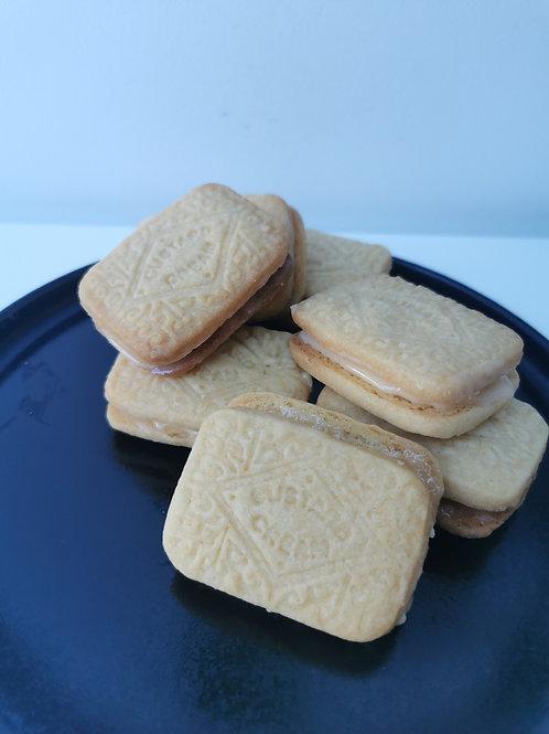 Homemade Custard Creams Baking Box