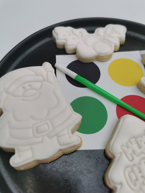 PRE-ORDER Festive Paint Your Own Cookie Set