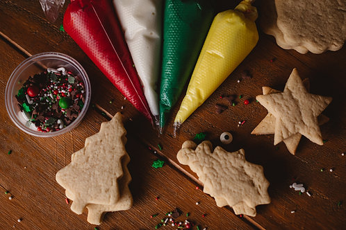 PRE-ORDER Festive DIY Cookie Decorating Kit