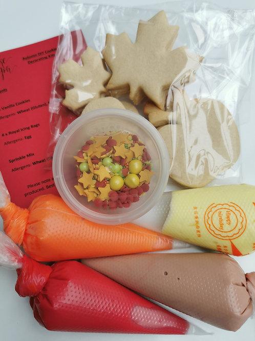 Autumn DIY Cookie Decorating Kit