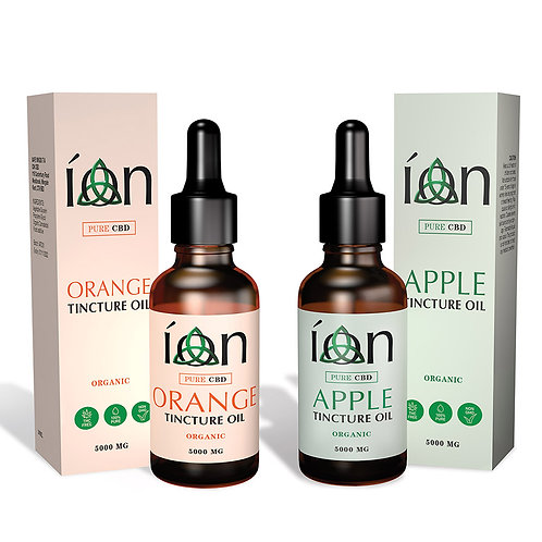 Apple & Orange - Pure CBD - Tincture Oil