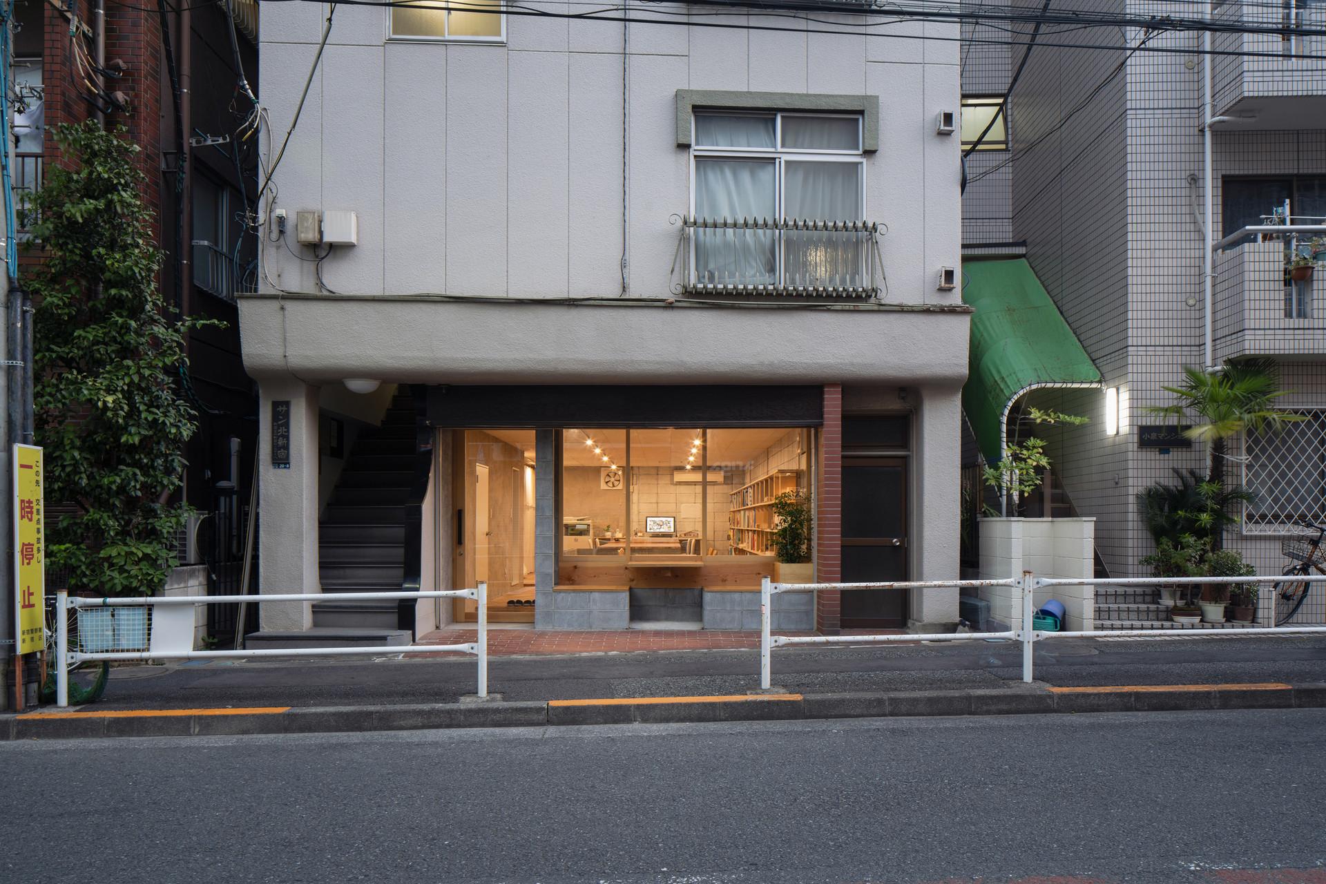 | no.004 | kitashinjyuku , tokyo | office | 2020 |