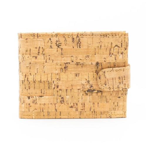 Light Natural Cork Wallet for Men