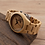 Thumbnail: Natural Bamboo Wood Watches With Deer Head Engrave