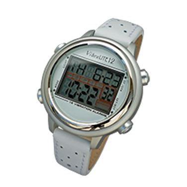 reloj alarma control pérdida de orina blanco mujer