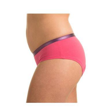 Modelo Deportivo rosa/púrpura