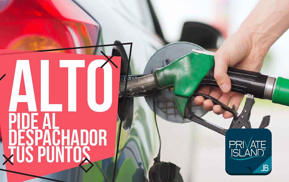 Gasolineras que te bonifican puntos para pagar el consumo