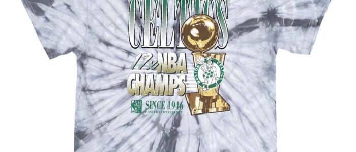 Mitchell & Ness 17x Champs Tee Boston Celtics