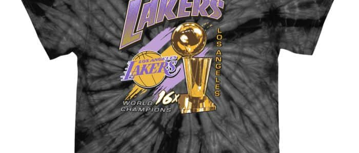 Mitchell & Ness Streak of Championships Tee Los Angeles Lakers