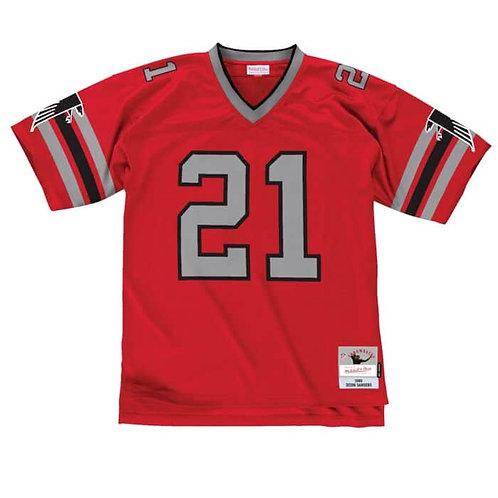 M&N Legacy Deion Sanders Falcons Jersey