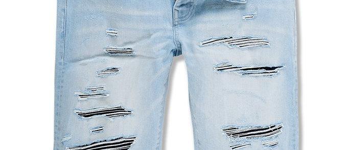 Jordan Craig Abyss Shorts - Ice Blue