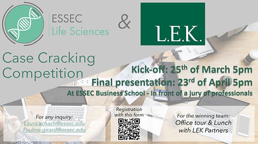 LEK Case Cracking Competition Singapore.