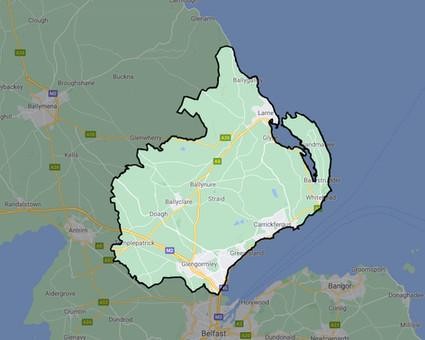 Window cleaner Belfast map.jpg