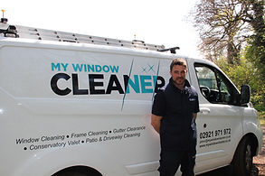 Window cleaner Cardiff