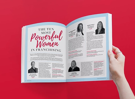 Revive! Director named in Ten Most Powerful Women in Franchising