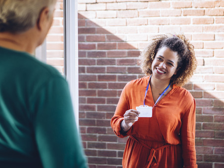 How a care visit could help mental wellbeing