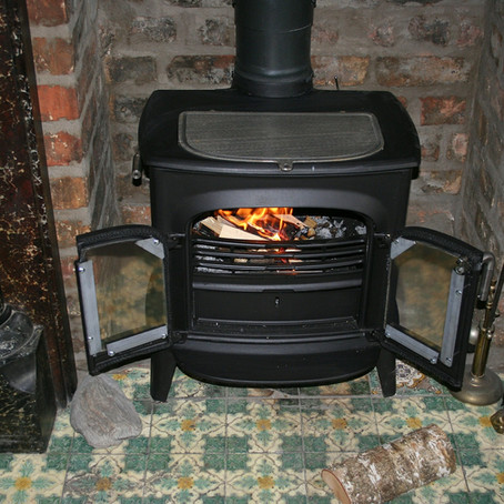 A 'terrifying' chimney fire