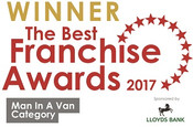 Mac Tools Best Van Franchise 2017 award
