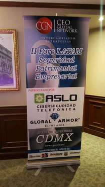ASLO sponsoring a security event
