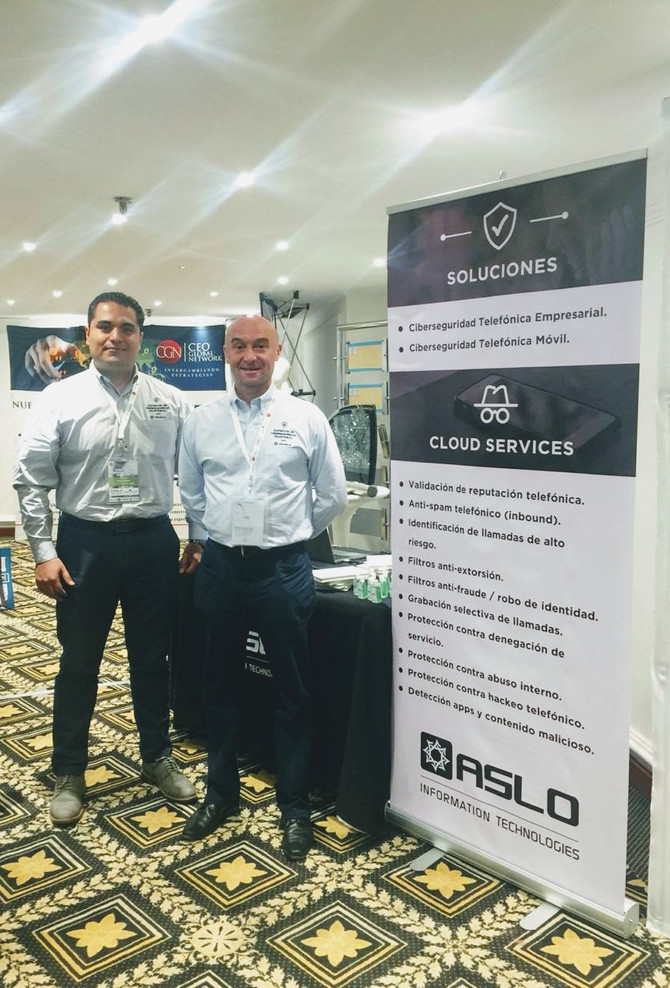 ASLO exhibiting at Security Forum in MX City