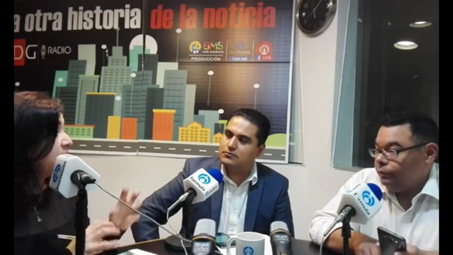 ASLO at the radio speaking about smartphone risk
